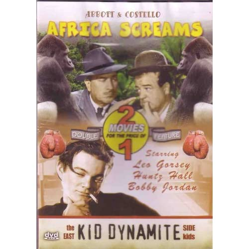 Image 0 of Africa Screams/Kid Dynamite On DVD with Abbott & Costello
