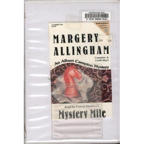 Image 0 of Mystery Mile/audio Cassettes By Margery Allingham Francis Matthews Narrator On A