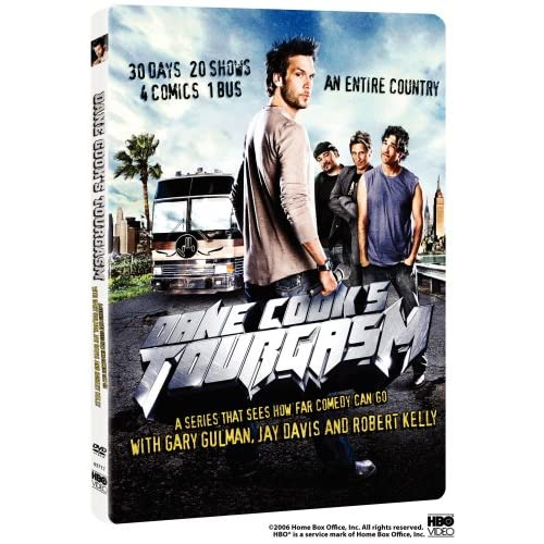 Dane Cook's Tourgasm On DVD