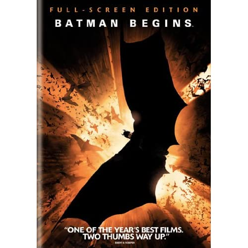 Image 0 of Batman Begins Full Screen Edition On DVD With Christian Bale