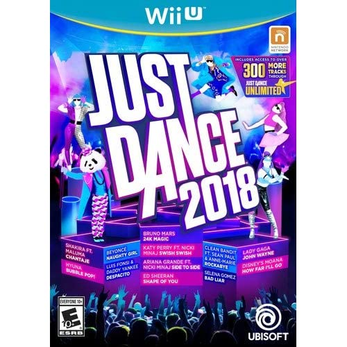 Image 0 of Just Dance 2018 For Wii U Music
