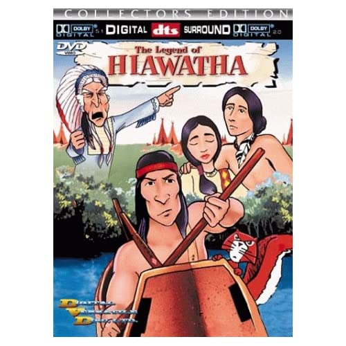 Image 0 of The Legend Of Hiawatha On DVD with Ron Haddrick