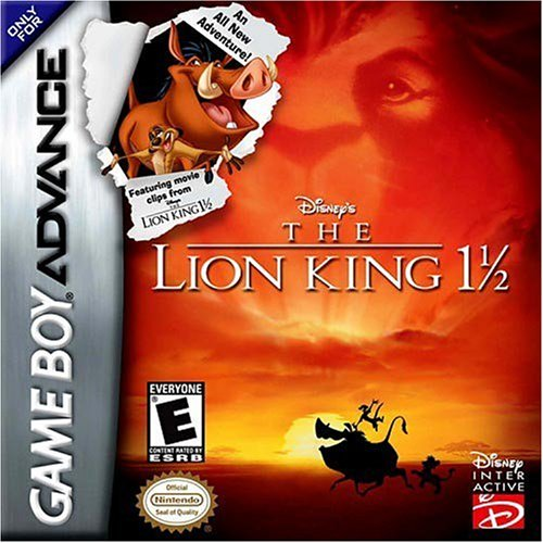 Image 0 of Lion King 1 1/2 For GBA Gameboy Advance