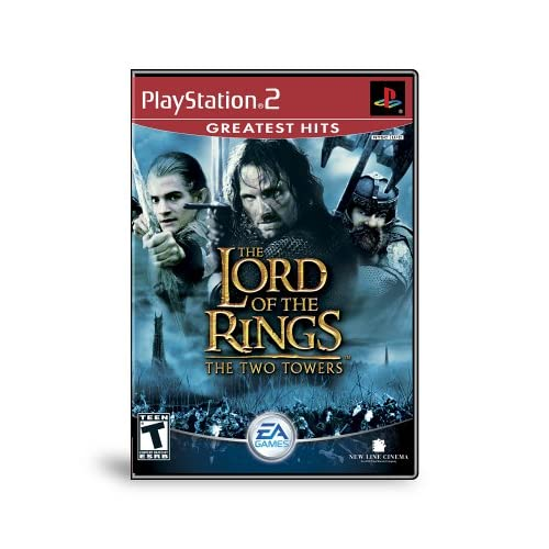 Lord Of The Rings The Two Towers For PlayStation 2 PS2 RPG