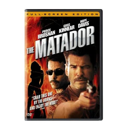 Image 0 of The Matador Full Screen Edition On DVD with Pierce Brosnan Mystery