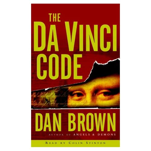 Image 0 of The Da Vinci Code By Dan Brown Colin Stinton Narrator On Audio