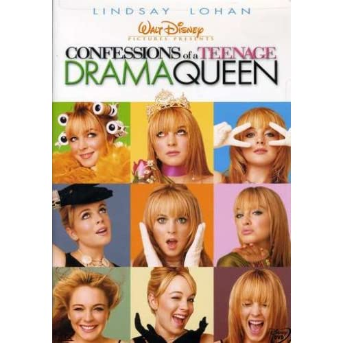 Image 0 of Confessions Of A Teenage Drama Queen On DVD With Lindsay Lohan Disney Comedy