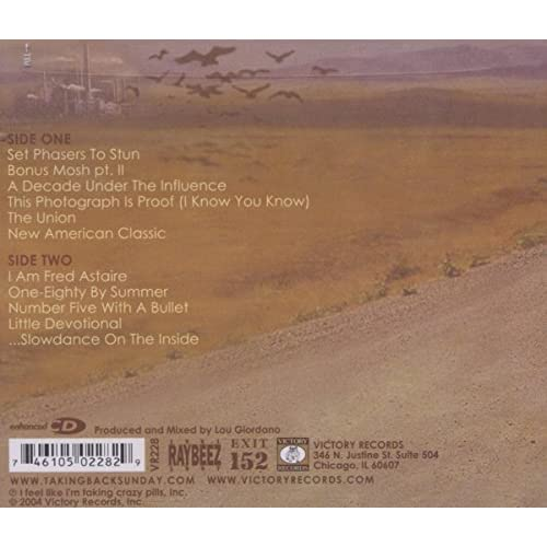 Image 3 of Where You Want To Be By Taking Back Sunday Performer On Audio CD Album