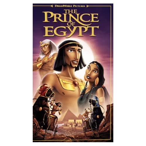 The Prince Of Egypt On VHS With Val Kilmer