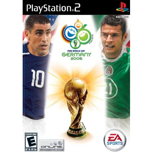 FIFA World Cup Germany 2006 For PlayStation 2 PS2 Soccer With Manual