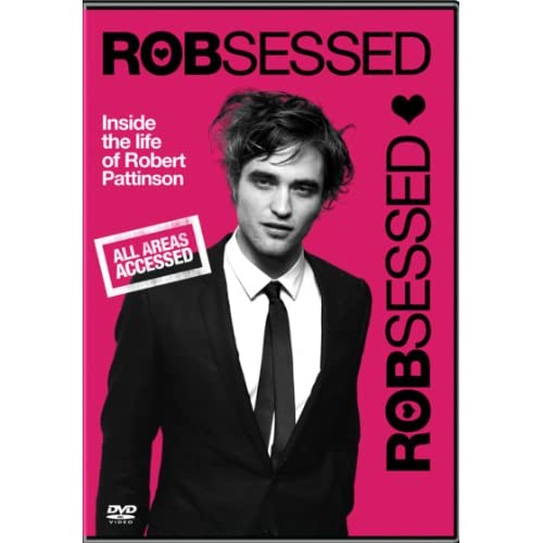 Image 0 of Robsessed With Robert Pattinson Documentary On DVD