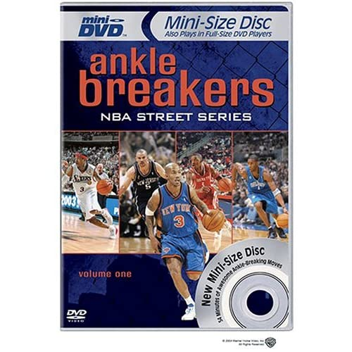 Image 0 of NBA Street Series Ankle Breakers Volume One Mini-DVD Basketball DVD