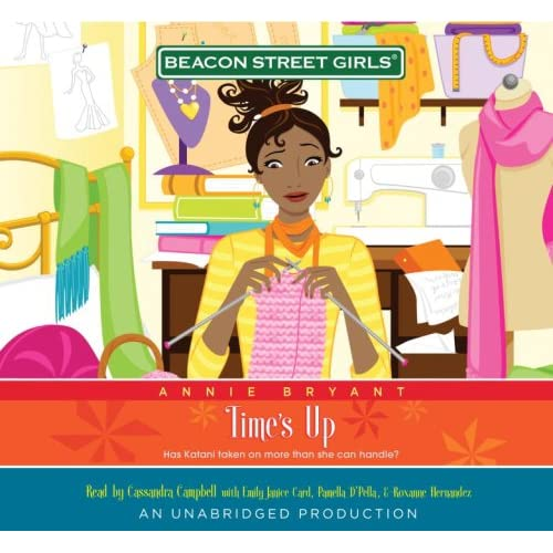Image 0 of Beacon Street Girls #12: Time's Up Narrated By Cassandra Campbell 5 CDs Complete