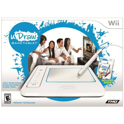 Image 0 of uDraw Gametablet With uDraw Studio For Wii White Tablet 30416