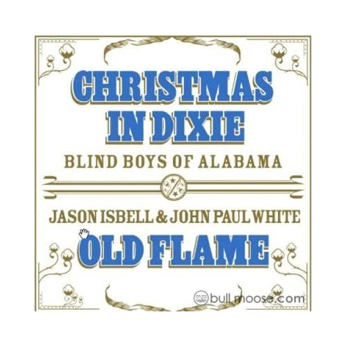 Christmas In Dixie / Old Flame On Vinyl Record by Blind Boys Of