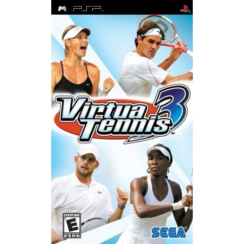 Image 0 of Virtua Tennis 3 Sony For PSP UMD
