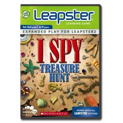Leapfrog Leapster Learning Game Scholastic Ispy Treasure Hunt For Leap