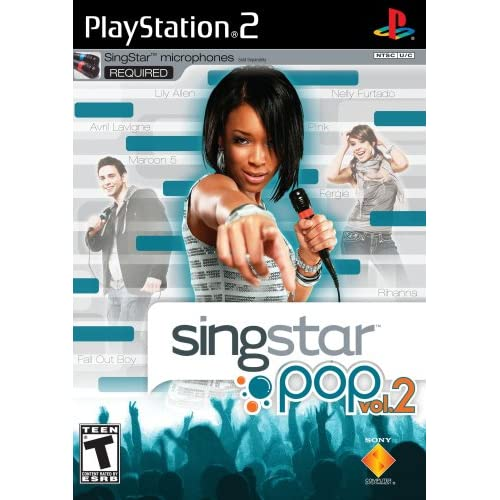 Image 0 of Singstar Pop Vol 2 For PlayStation 2 PS2 Music