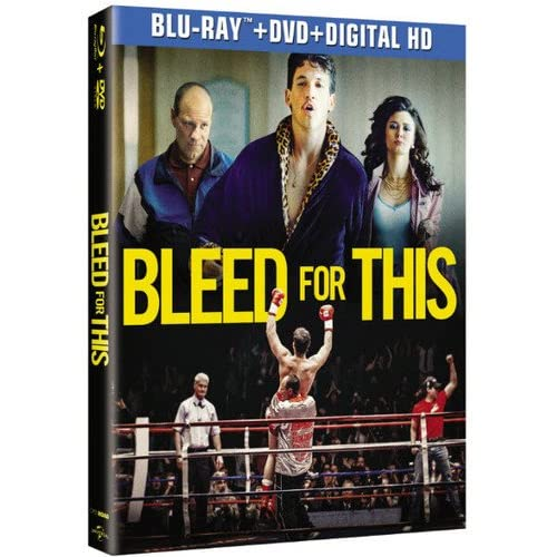 Image 0 of Bleed For This Blu-Ray On Blu-Ray With Miles Teller Drama