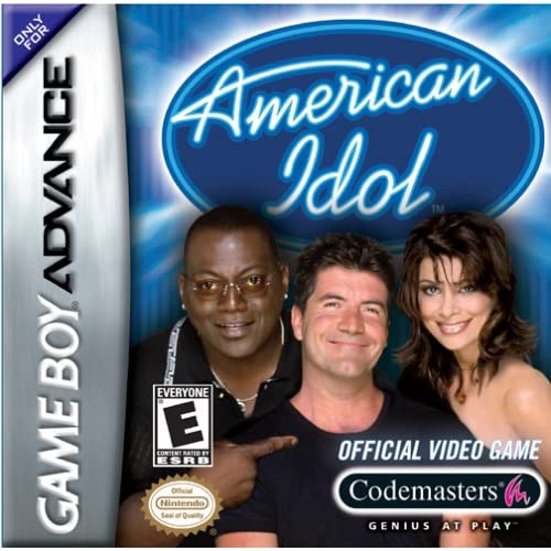 American Idol For GBA Gameboy Advance With Manual and Case