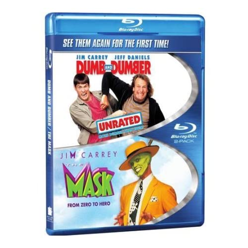 Image 0 of The Mask / Dumb And Dumber Double Feature Blu-Ray On Blu-Ray