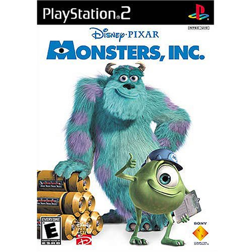 Image 0 of Disney Monsters Inc For PlayStation 2 PS2