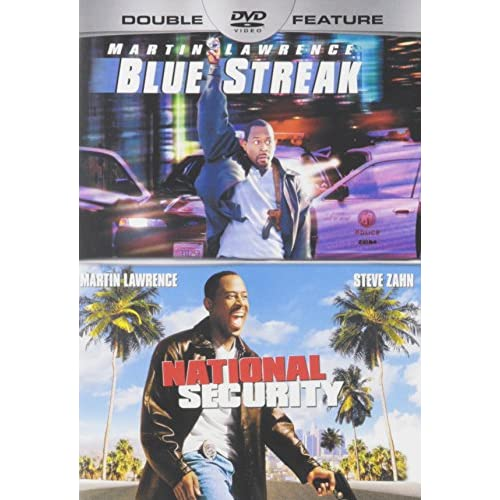 Image 0 of Blue Streak / National Security On DVD with Lawrence  Martin Comedy