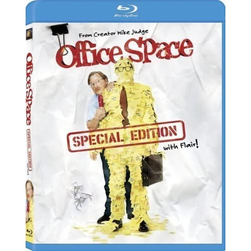 Image 0 of Office Space Special Edition With Flair! Blu-Ray On Blu-Ray With Jennifer Anisto