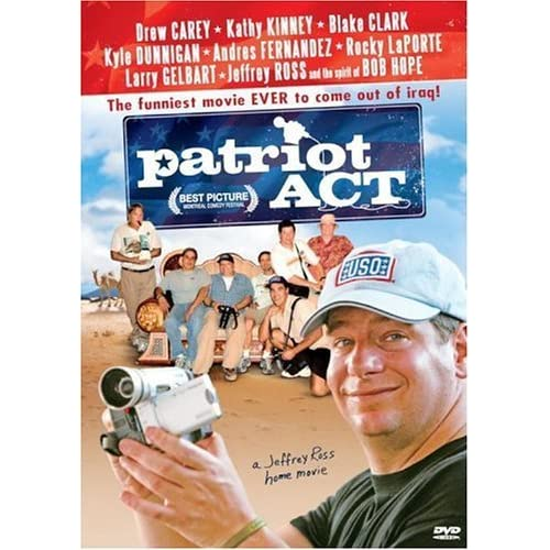 Image 0 of Patriot Act: A Jeffrey Ross Home Film On DVD