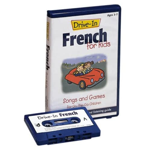 Image 0 of Drive-In French For Kids: Songs And Games For On-The-Go Children Drive-In Audio