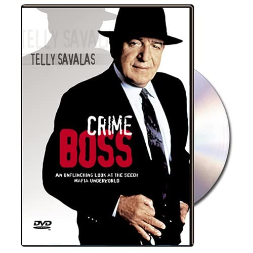 Image 0 of Crime Boss On DVD With Telly Savalas Mystery