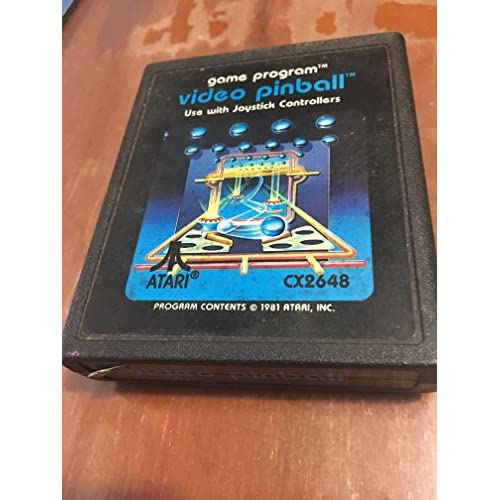 Video Pinball Atari 2600 For Atari Vintage Arcade