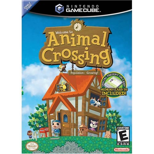 Animal Crossing For GameCube With Manual and Case