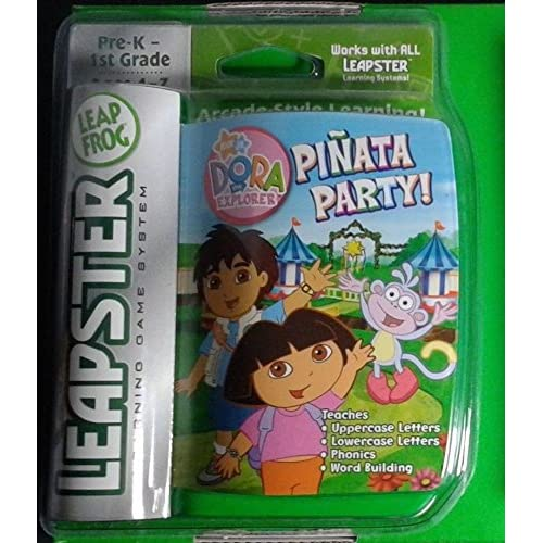 Image 0 of Leapster Learning Game System Cartridge Of Dora The Explorer Pinata Party! For L