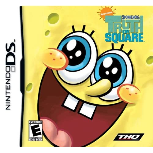Image 0 of Spongebob Truth Or Square For Nintendo DS DSi 3DS 2DS