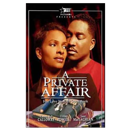 Image 0 of A Private Affair On DVD With Vanessa Bell Calloway