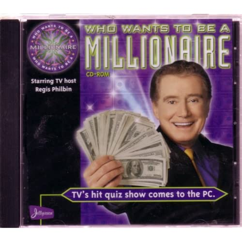 Who Wants To Be A Millionaire PC Software Disney