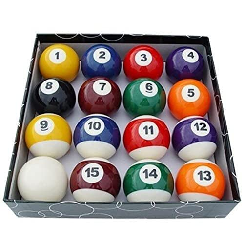 Image 0 of Unique Design Set Of 16 Miniature Mini Pool Balls