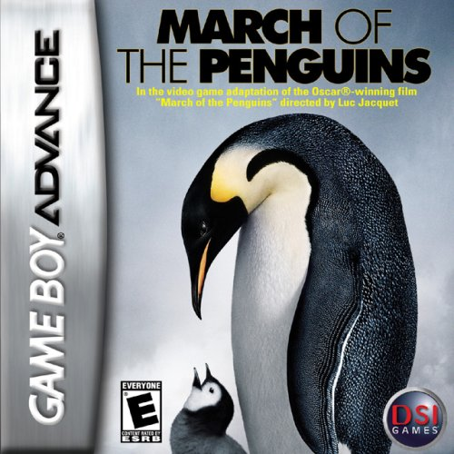 Image 0 of March Of The Penguins Game Boy Advance For GBA Gameboy Advance Action