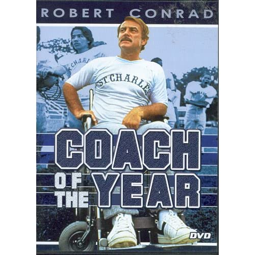 Image 0 of Coach Of The Year Slim Case On DVD With Robert Conrad