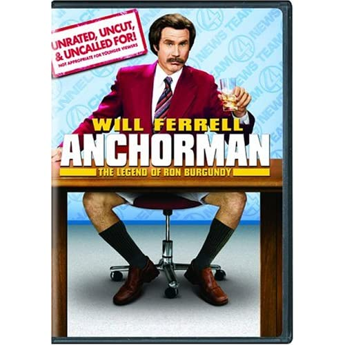 Image 0 of Anchorman: The Legend Of Ron Burgundy Unrated Widescreen Edition On