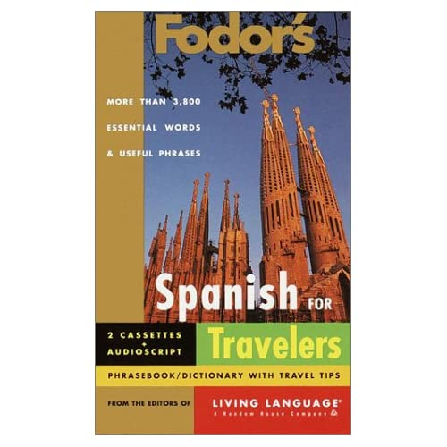 Image 0 of Fodor's Spanish For Travelers Audio Set Fodor's Languages/travelers By Living La