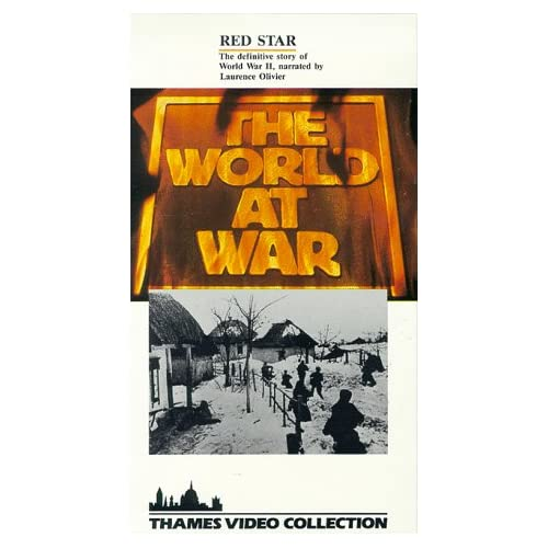 Image 0 of World At War:Red Star/Slipsleeve On VHS With Laurence Olivier
