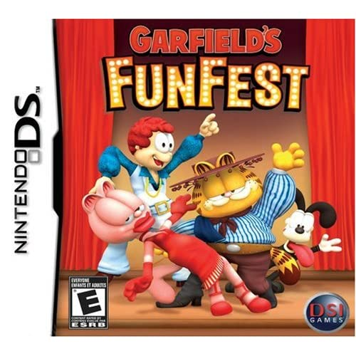Image 0 of Garfield's Funfest For Nintendo DS DSi 3DS 2DS