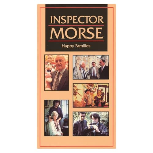 Image 0 of Inspector Morse Happy Families On VHS With John Thaw
