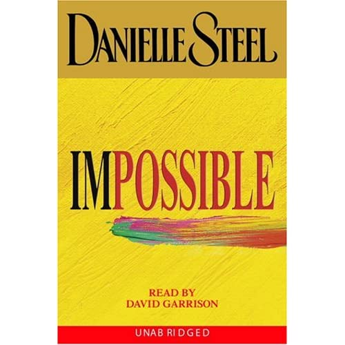 Image 0 of Impossible Danielle Steel By Danielle Steel On Audio Cassette