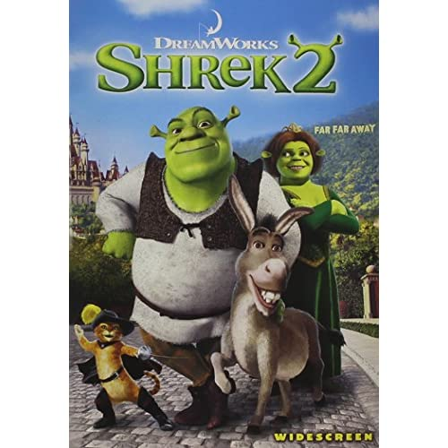 Image 0 of Shrek 2 Widescreen Edition On DVD With Mike Myers Anime