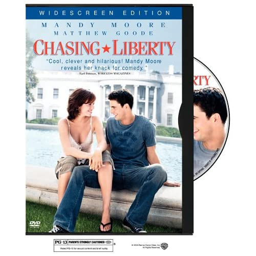 Image 0 of Chasing Liberty Widescreen Edition On DVD With Mandy Moore Comedy