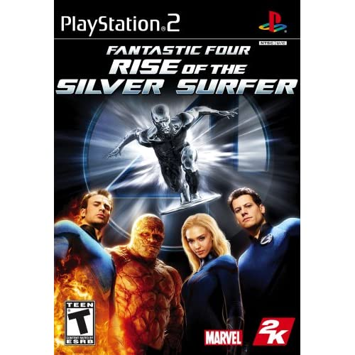 Image 0 of Fantastic 4: Rise Of The Silver Surfer For PlayStation 2 PS2