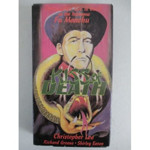 Image 0 of Kiss Of Death On VHS With Christopher Lee